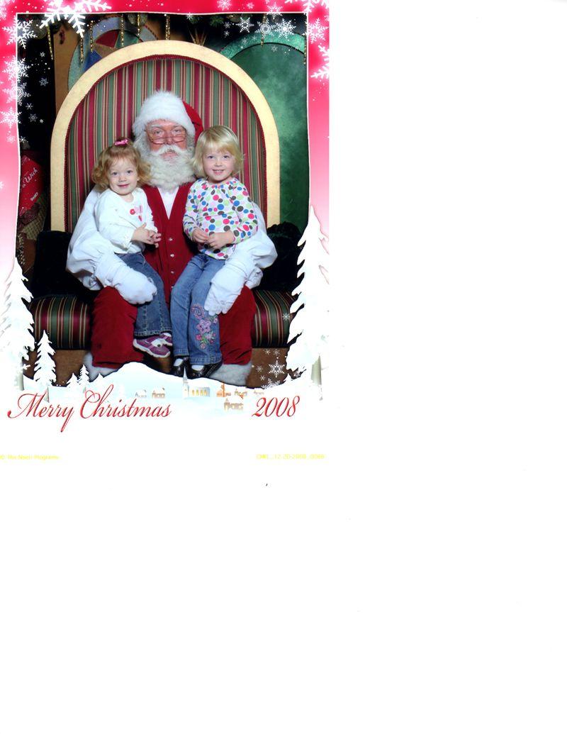 Christmas pic with Santa001
